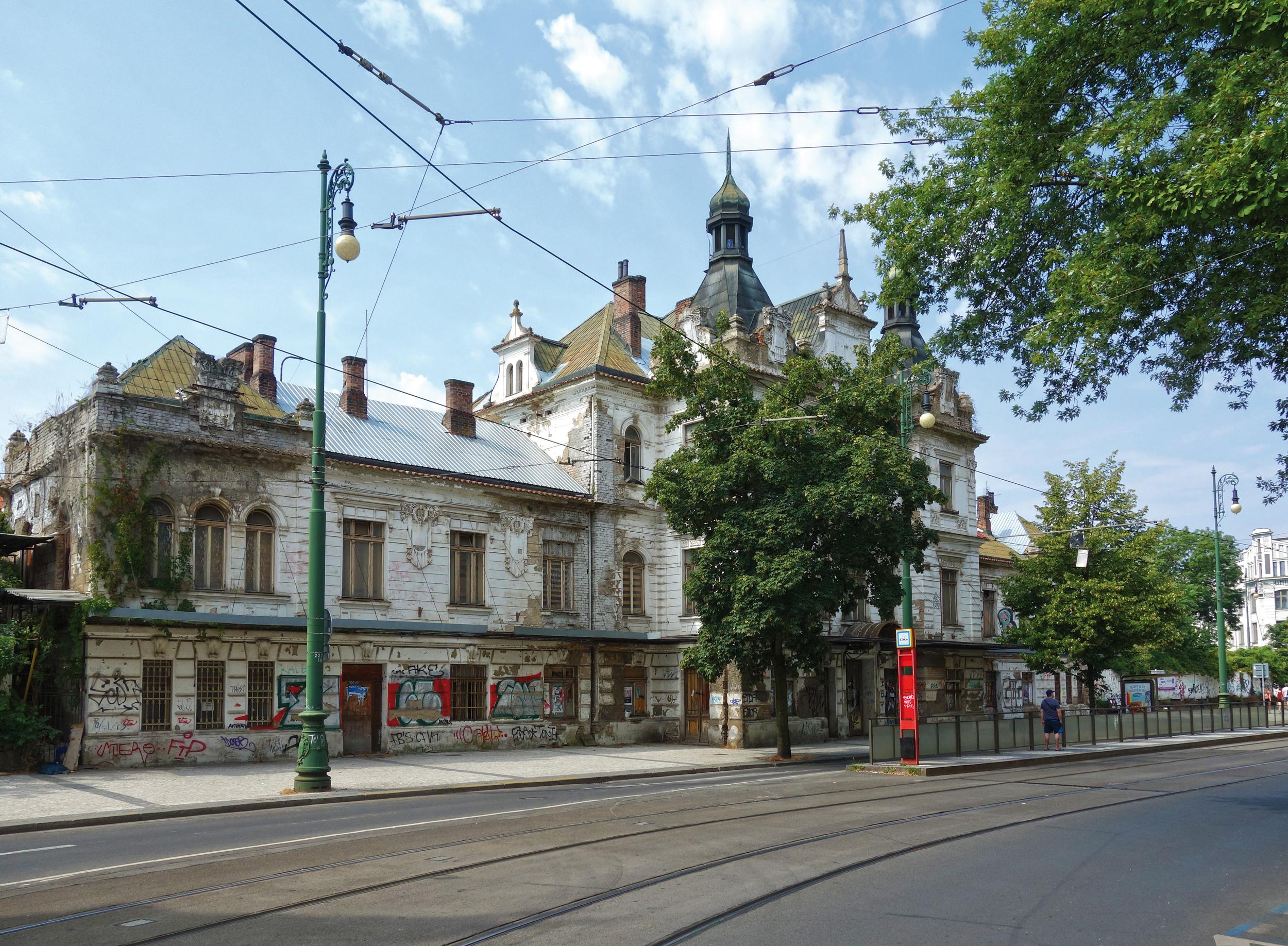 Petice za záchranu nádraží Vyšehrad
