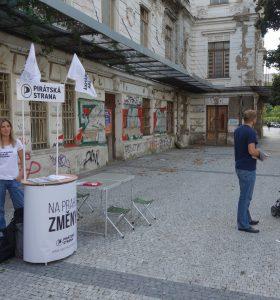 Petice za záchranu nádraží Vyšehrad / 14.9.2018 (fotogalerie)