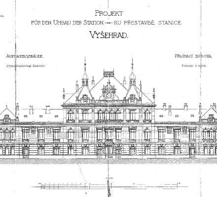 Historická stavební dokumentace budovy zr. 1904