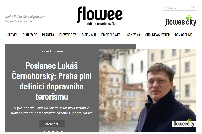 Poslanec Lukáš Černohorský: Praha plní definici dopravního terorismu / flowee.cz